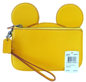 Coach Disney x Coach Mickey EARS Clutch Wristlet F59529 Limited Ed