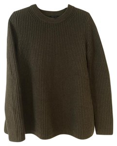Theory Knit Olive Olive Sweater
