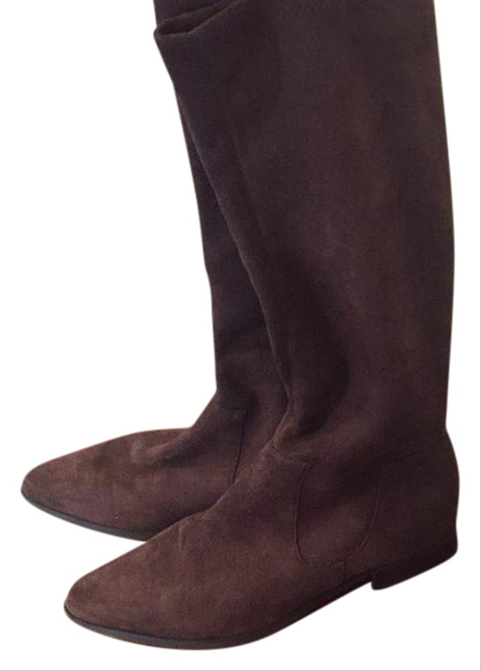 lady Markon Suede Brown Tall Suede Markon Boots/Booties quality Queen 50bff2
