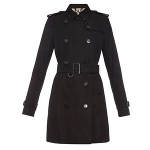 Burberry Kensington Mid Length Trench Coat