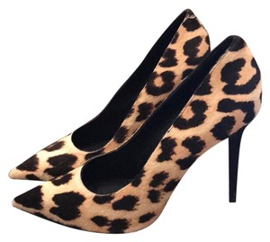 Cline Stiletto Heels leopard animal print Pumps