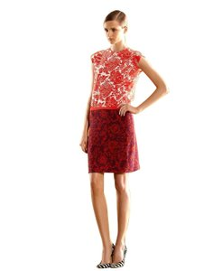 Gucci short dress Orange - Floral Silk Clothing Fashion on Tradesy