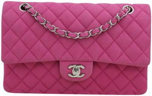 Chanel Classic Flap Medium Caviar Leather Shoulder Bag