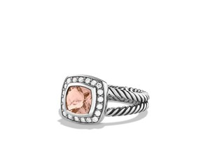 David Yurman Petite Albion 7mm Morganite Ring