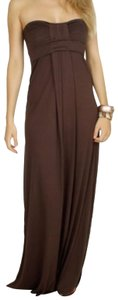 Brown Maxi Dress by Fighting Eel