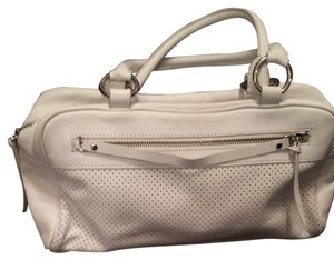 Banana Republic Satchel in White