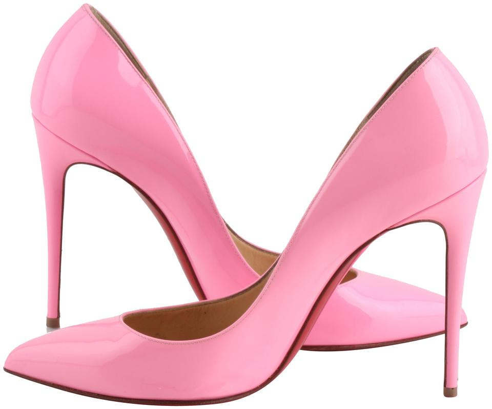 sports shoes 1e2f6 43790 Christian Louboutin Pink Pigalle Follies 100 Dolly Patent Leather Pumps  Size US 8 Regular (M, B) 23% off retail