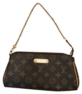 Louis Vuitton Eva Monogram Brown Monogram Clutch