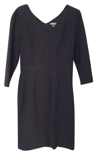 DKNY Wool V-neck Nwt Size 4 Dress