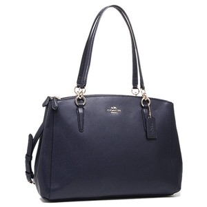 Coach Satchel in Midnight (Navy)