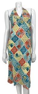 Alice & Trixie short dress multi Silk Printed Halter Knee Length on Tradesy