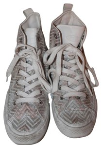 Missoni x Converse White Pink Chevron Print White/Pink Athletic