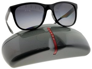 Prada PS03OS-1AB5W1 Men's Black Frame Grey Lens Polarized Sunglasses
