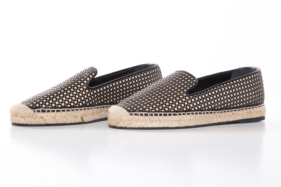 and Josette Espadrille Flats Tan Black Moncler 8g5Hwaq00