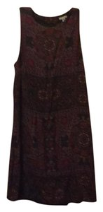 Ecote short dress brown on Tradesy