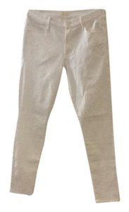 Mother Straight Pants white