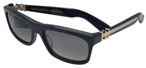 Chrome Hearts CHROME HEARTS Sunglasses MY DIXADRYLL BK-GP Black & Gold w/ Grey Fade