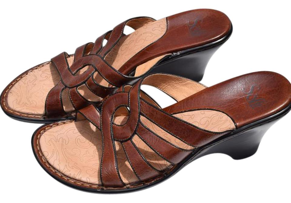 Eürosoft by Tags S?fft Brown New Without Tags by Wedges 9e5114