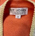 St. John Collection Salmon Knit Suit Mid-length Work/Office Dress Size 6 (S) St. John Collection Salmon Knit Suit Mid-length Work/Office Dress Size 6 (S) Image 6