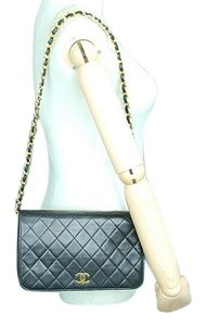 Chanel Flap Quilted Lambskin Iconic Shoulder Bag