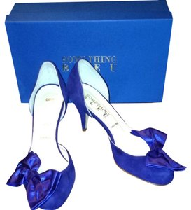 Something Bleu Blue Pumps