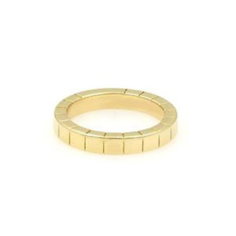 9d306ac57fa15 Cartier Lanieres 18k Yellow Gold Size 54 Ring 35% off retail