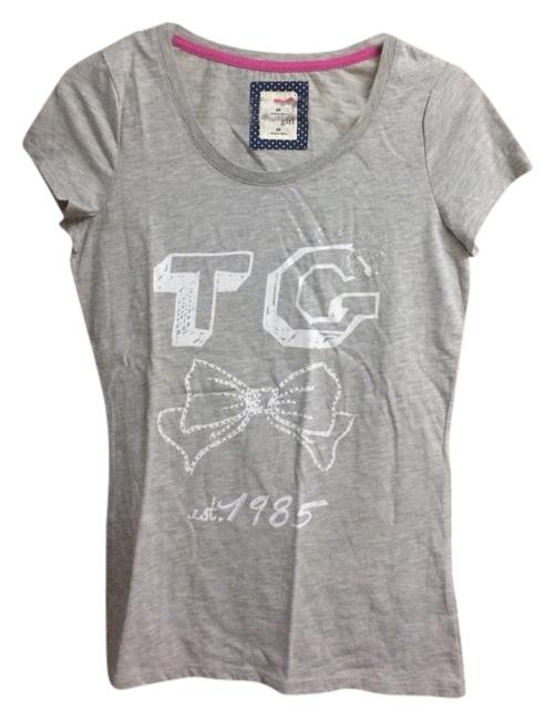 Preload https://item2.tradesy.com/images/tommy-hilfiger-gray-tee-shirt-size-8-m-2142421-0-0.jpg?width=400&height=650