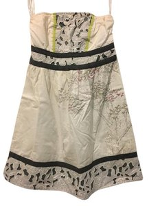 Urban Outfitters short dress White Summer Spring Floral on Tradesy