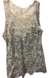 Urban Outfitters Casual Embroidered Top Floral