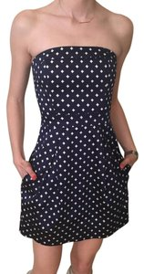 French Connection short dress navy and white on Tradesy
