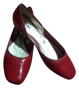 Matiko New Leather Ballet Spain red Flats