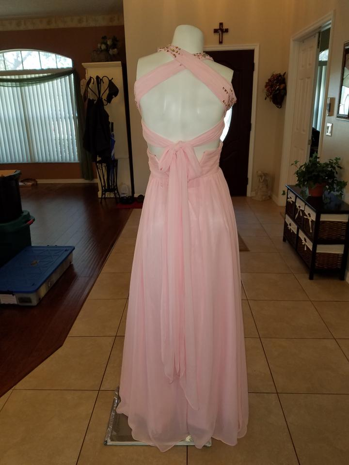 Soft Pink Dream Prom Long Formal Dress Size 2 (XS) - Tradesy