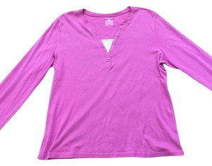 Jones New York Casual Camisole Top Pink/White