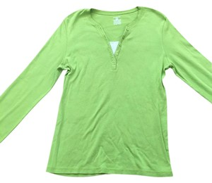 Jones New York Casual Camisole Top Lime/White