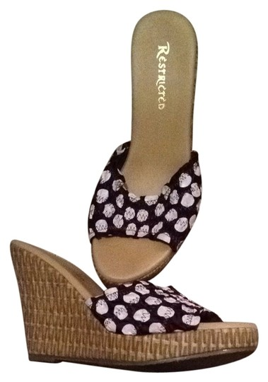 Preload https://item5.tradesy.com/images/restricted-chocolate-brown-and-white-wedges-2142534-0-0.jpg?width=440&height=440