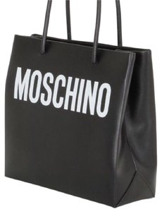 Moschino Tote in Black/White