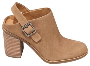Lucky Brand tan Mules