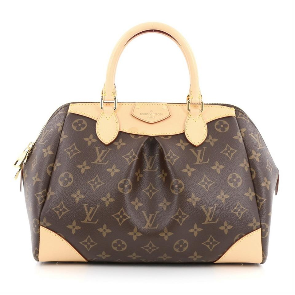 Louis Vuitton Segur Canvas Satchel