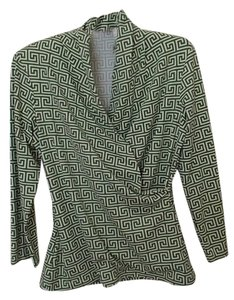 J.McLaughlin Catalina Top Green and White