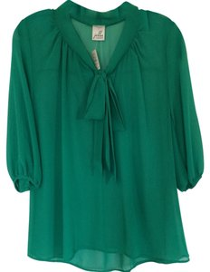 Jella Couture Top Green