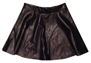 Body Central Skirt Black Pleather