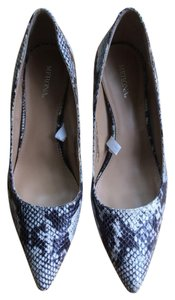 Target Snake Skin black and white Pumps