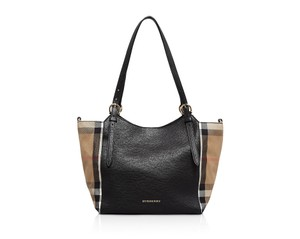 Burberry Canterbury Horseshoes Tote in Black