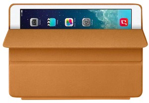 Apple Apple - Smart Case for iPad Air 1st Generation Brown Leather Authentic