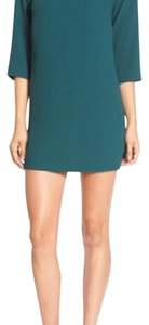Leith short dress forest green on Tradesy