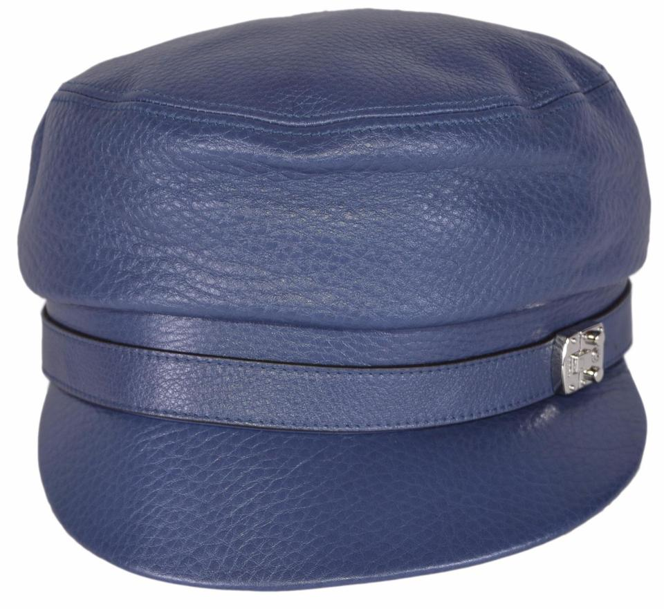 a874638b67c Gucci blue new womens leather driver cap small hat tradesy jpg 960x881  Gucci kangol bucket hats