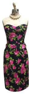 Betsey Johnson Peplum Strapless Dress