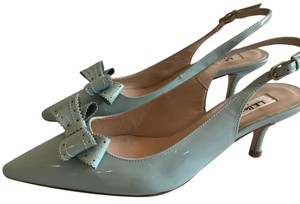 L.K. Bennett Light Blue Pumps