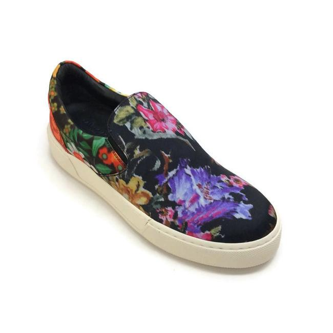 Item - Multicolor Floral Platform Sneakers Size US 11 Regular (M, B)