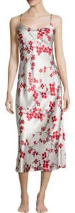 Red and silver Maxi Dress by Natori